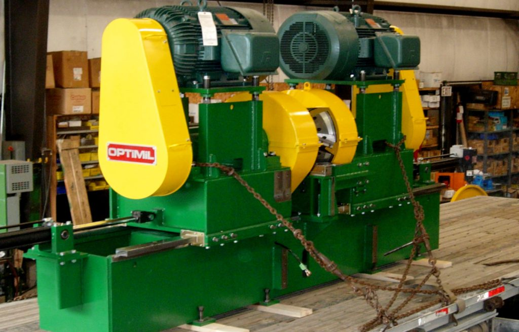 canter line product from Optimil Machinery sawmill machines