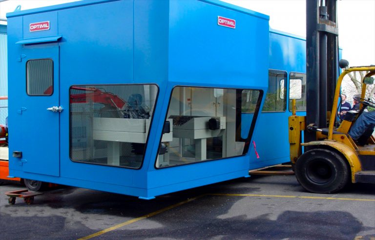 operator cab produced by optimil panel shop