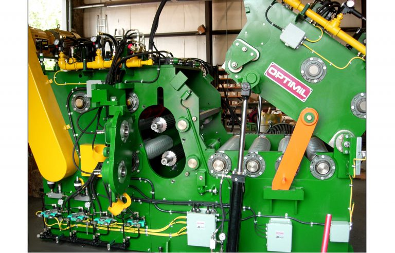 gangsaw section from optimil machinery inc