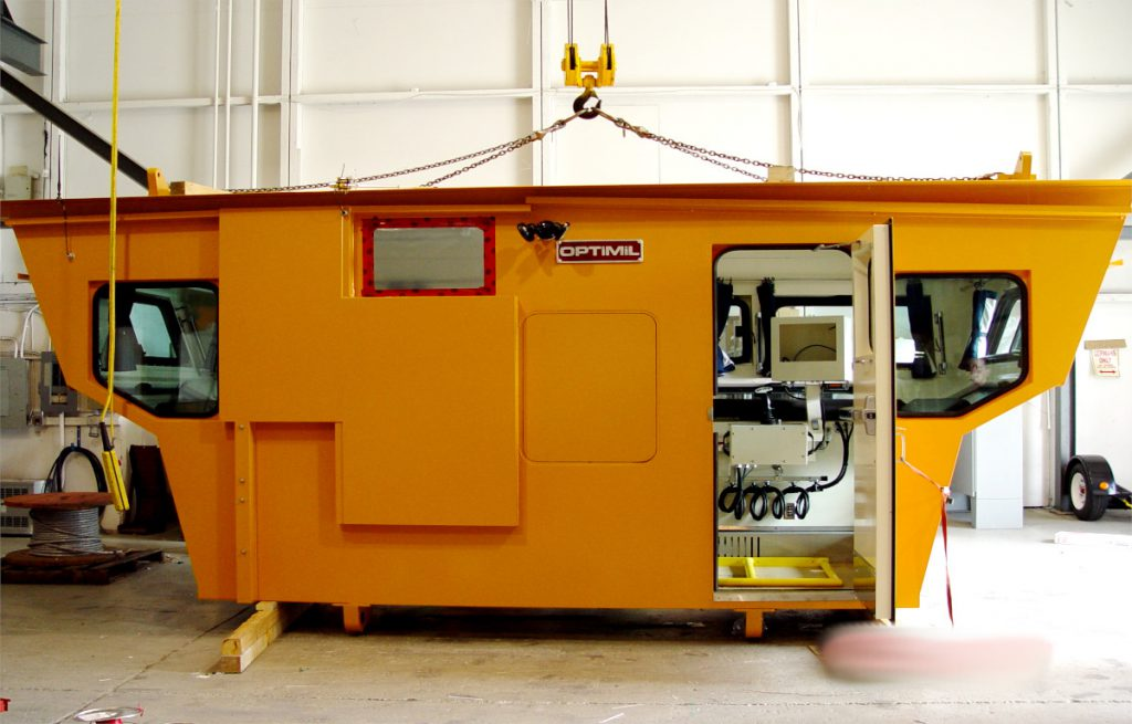 operator cabs from optimil panel shop