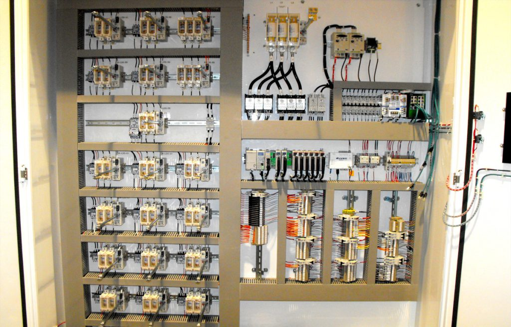panel shop work by Optimil Machinery created in Delta BC of UL and CSA certified quality