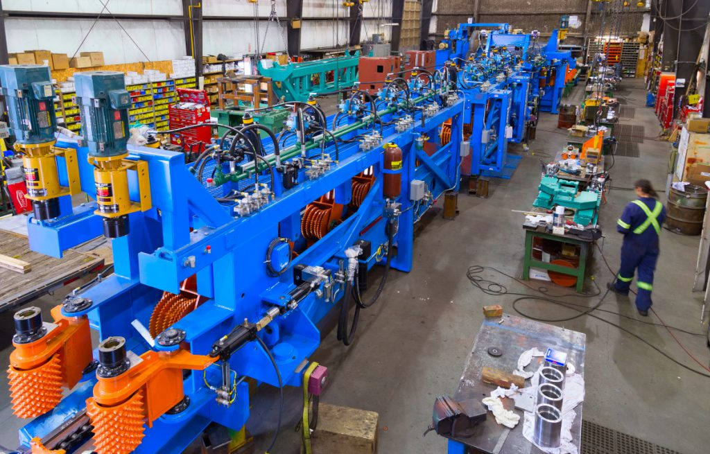 infeed system products for optimil sawmill machines