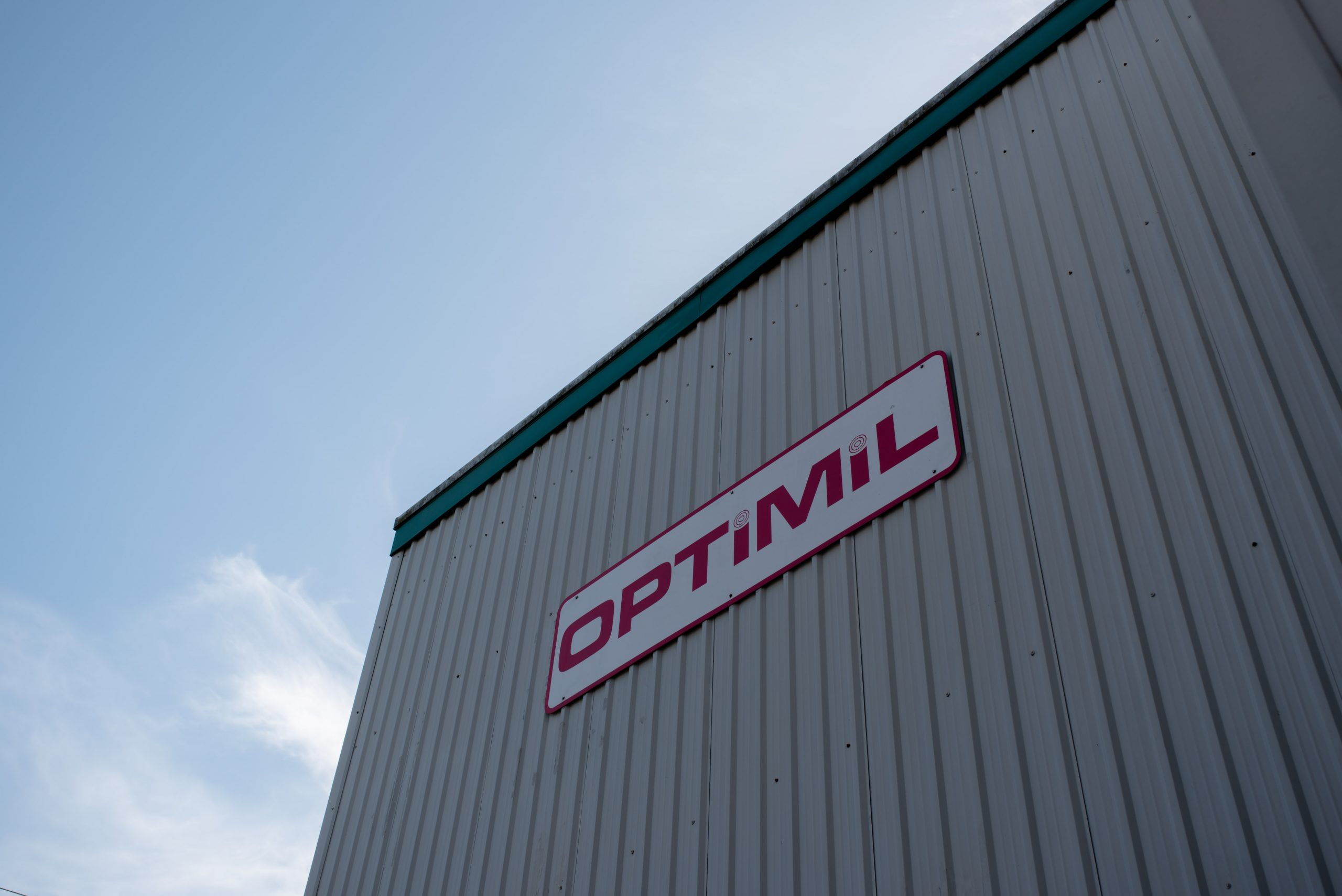 Optimil machinery building in Delta producing sawmill machinery
