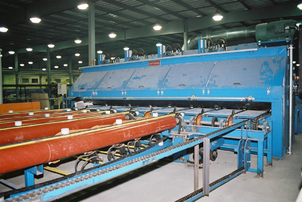 trimmer and sorter sawmill machinery from optimil